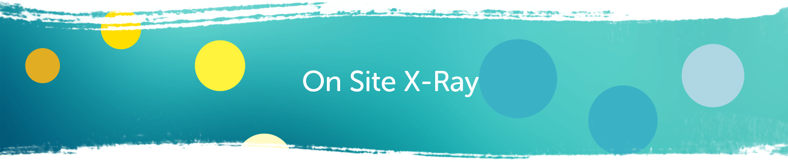 Braddon Dental On Site X-Ray Banner